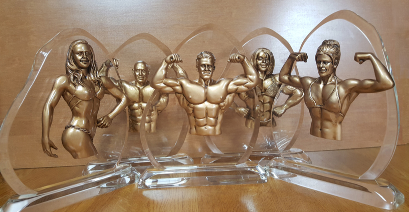 bodybuilding awards,trophys,Acrylic plaques,female fitness,Physique